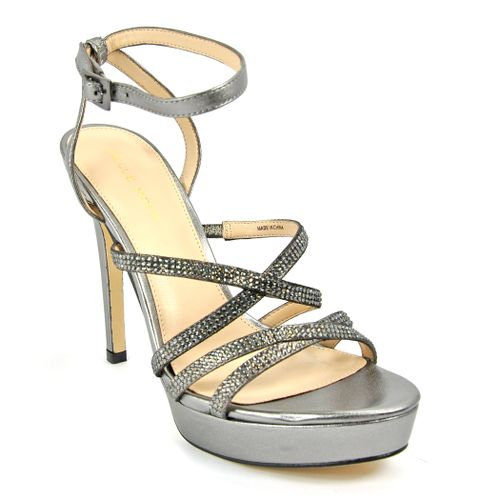Oak Metallic Platform Sandal