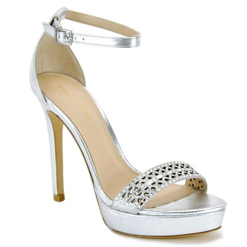 Olivia Metallic High Sandal