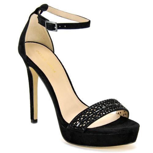 Olivia Suede High Sandal