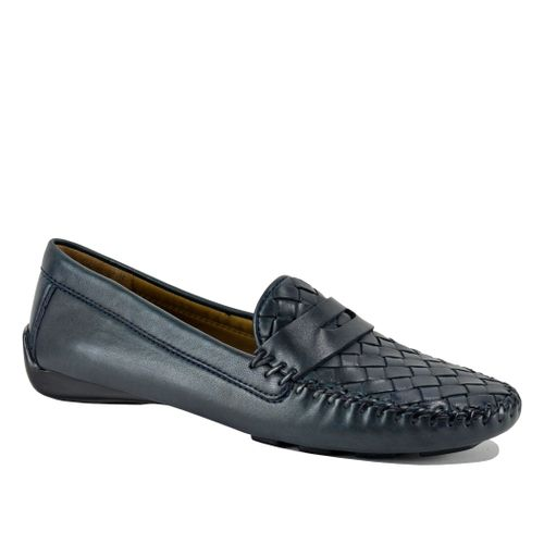 Petra Leather Driving Moccasin