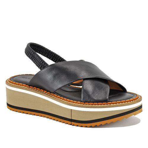 Freedom 3 Leather Platform Sandal