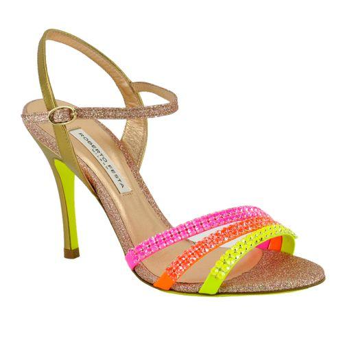 Follina Multi Heel Sandal