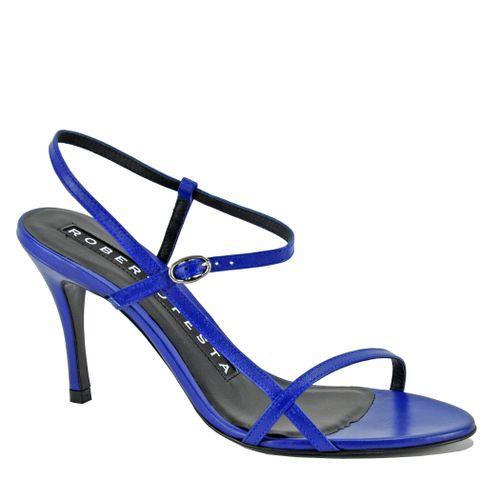 Geneve Leather Heel Sandal