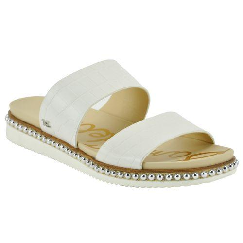 Asha Croc Double Banded Slide