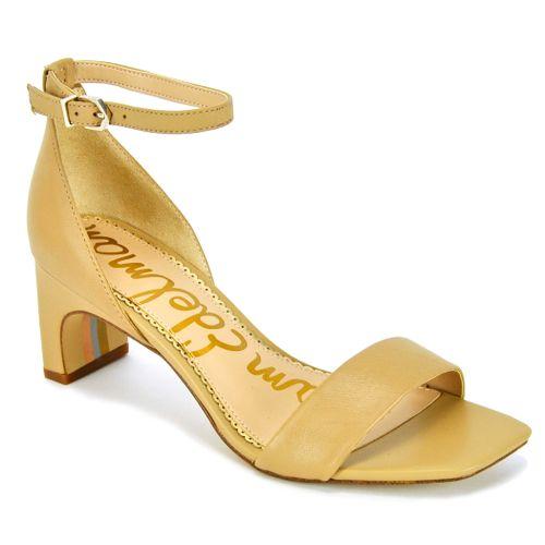 Holmes Leather Block Heel Sandal