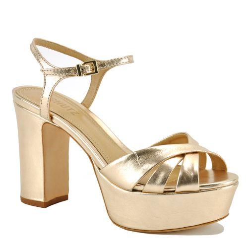 Keefa Metallic Platform Sandal