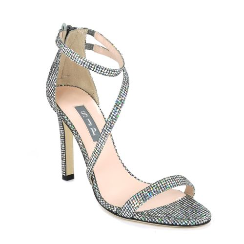 Serpentine Metallic High Heel