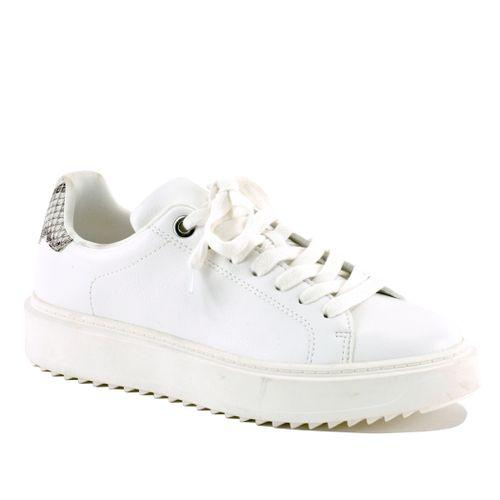 Catcher Leather Platform Sneaker