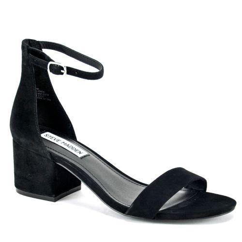 Irenee Suede Block Heel Sandal