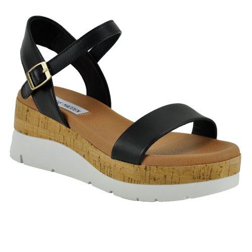Roselita Leather Wedge Sandal