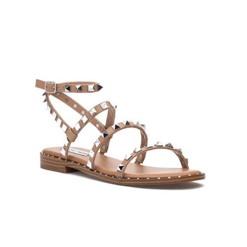 Travel Strappy Flat Sandal