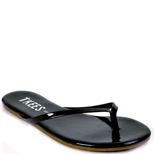 Glosses Leather Thong Sandal