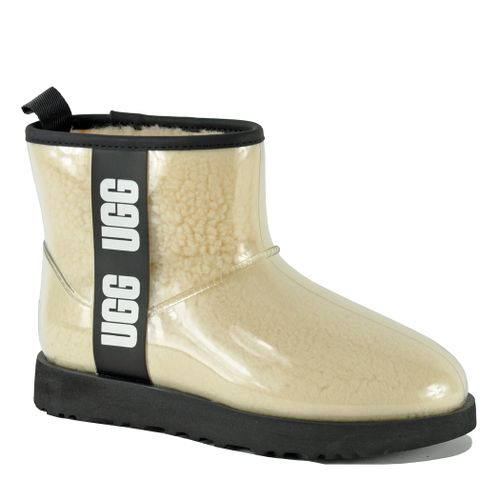 Classic Clear Mini Clear Shearling Bootie
