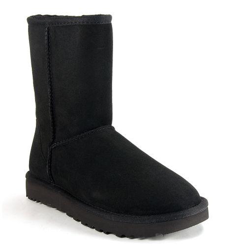 Classic Short II Suede/Sheepskin Boot