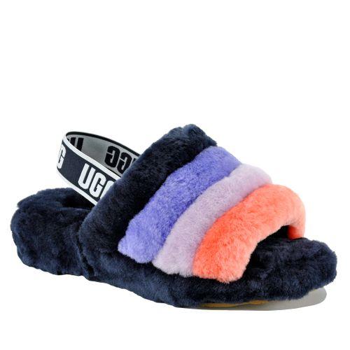 Fluff Yeah Shearling Flat Sandal