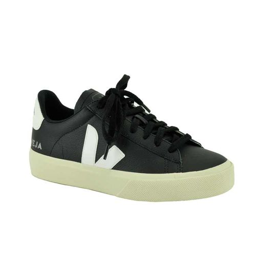 Campo Leather Black Sneaker