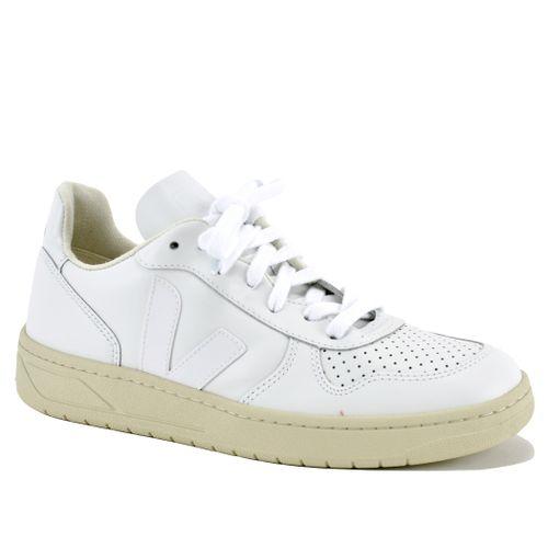 V-10 Leather V Sneaker