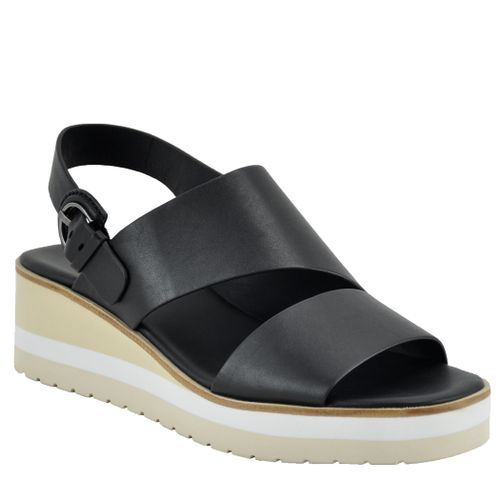 Shelby Leather Wedge Sandal