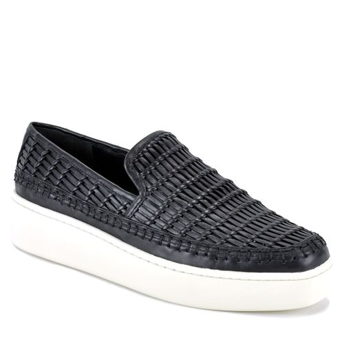 Stafford Woven Leather Sneaker