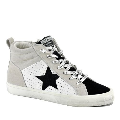 Lester Leather High Top Sneaker