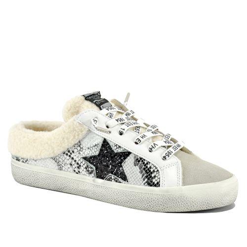 Mellow Snake Fur Sneaker