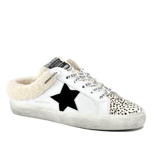 Mellow Leather Fur Sneaker