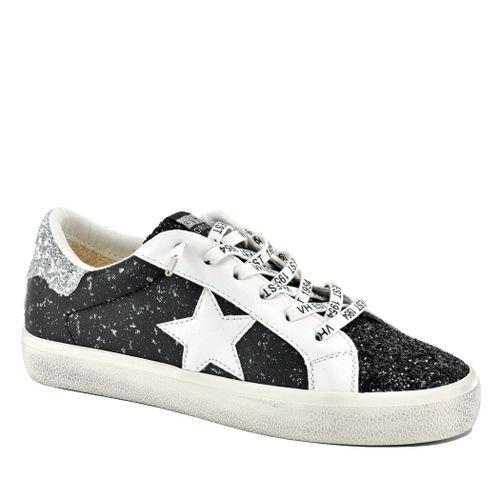 North Leather Glitter Sneaker