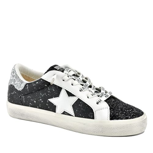 North Leather Glitter Sneaker