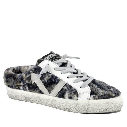 Snuggle Fur Mule Sneaker