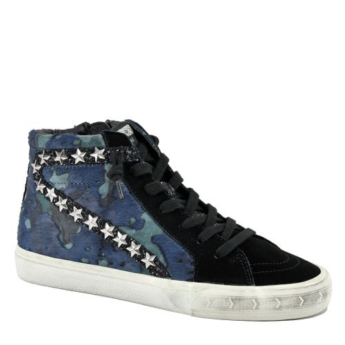 West Leather Camo Sneaker