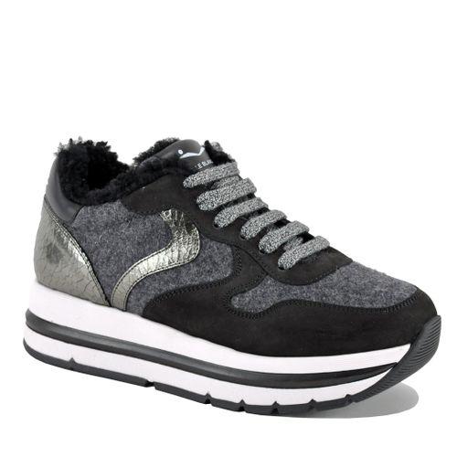 Maran Fur Platform Sneaker