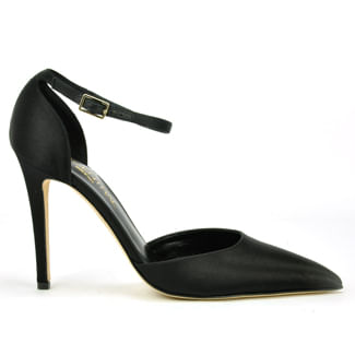 2-Piece-Shoe-SatinTapered-Toe-Pump-275Central_2PieceShoeSatin_Black_36-5Medium