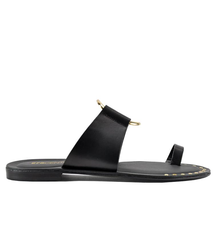 Pelech-Leather-Flat-Slide-275Central_Pelech_Black_36Medium
