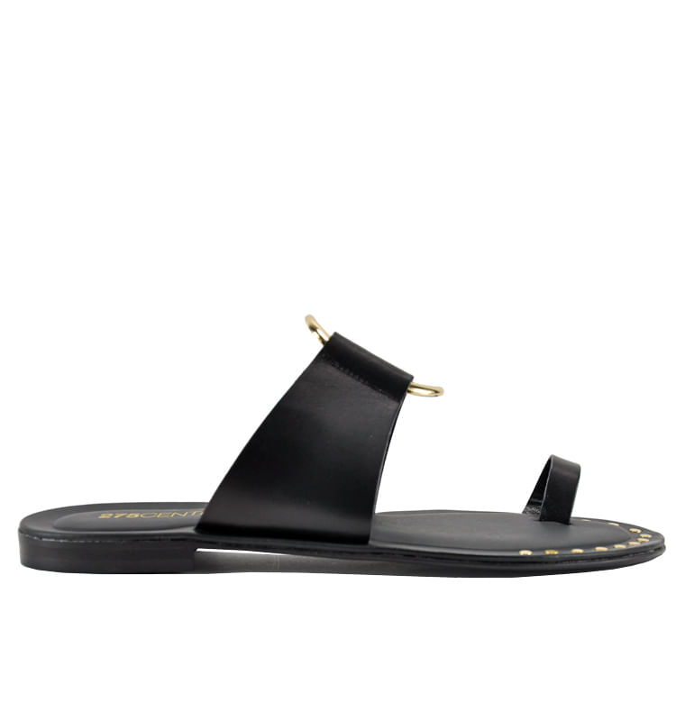 Pelech-Leather-Flat-Slide-275Central_Pelech_Black_36Medium
