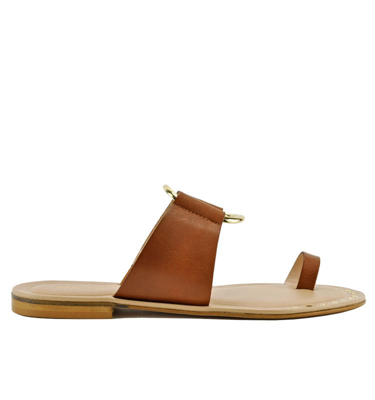 Pelech-Leather-Flat-Slide-275Central_Pelech_Cuoio_36Medium