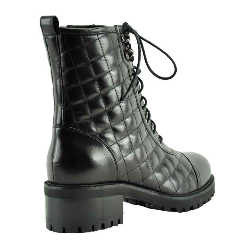 Motor-Quilted-Leather-Boot-36-5-Black-2