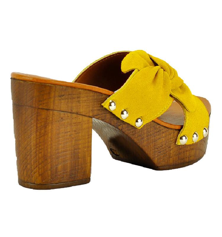 Sabrina-Suede-Wood-Heel-Slide-39-Yellow-2