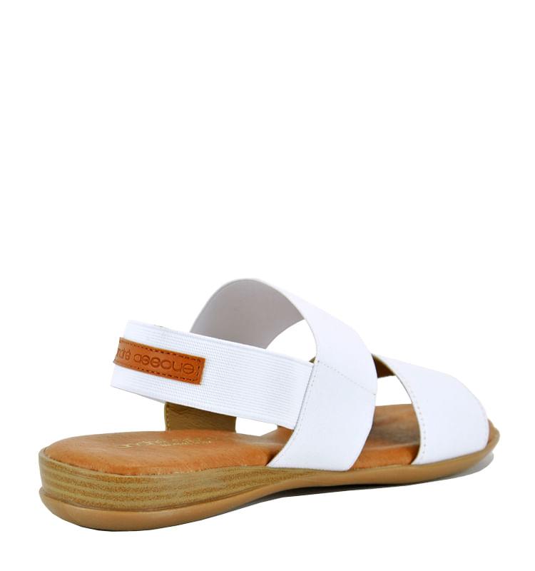 Nigella-Elastic-Double-Banded-Flat-11-White-2