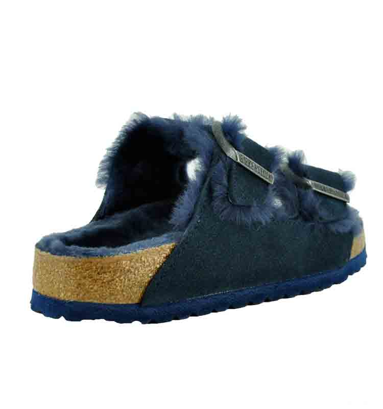 Arizona-Suede-Shearling-Slide-37-Navy-2