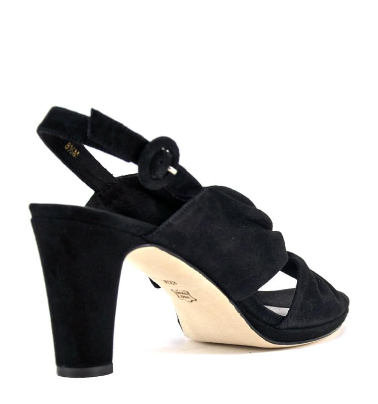 Karol-Suede-Pleated-Heel-Sandal-6-Black-2