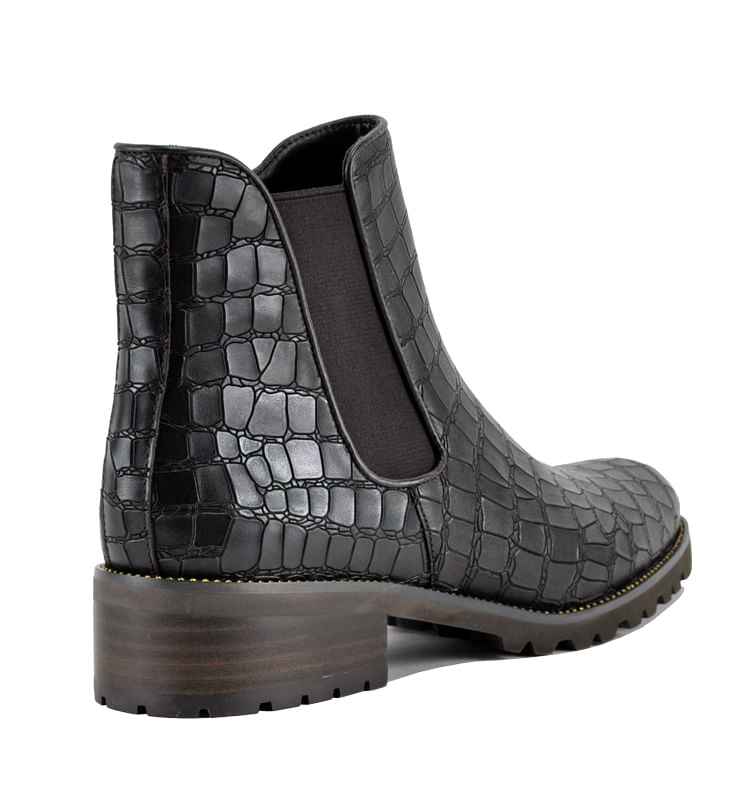 Links-Croc-Leather-Flat-Bootie-10-Brown-2