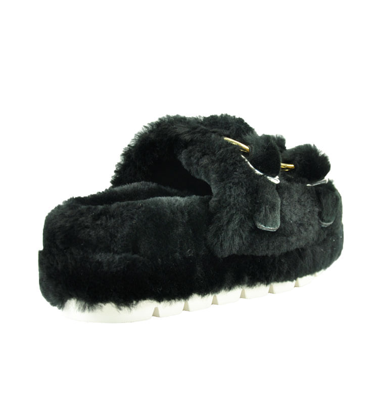 Brooke-Double-Banded-Fur-Slide-8-Black-2