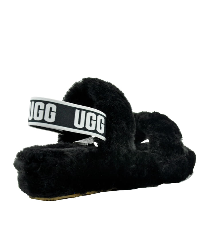 Oh-Yeah-Slide-Shearling-Double-Banded-Slide-6-Black-2