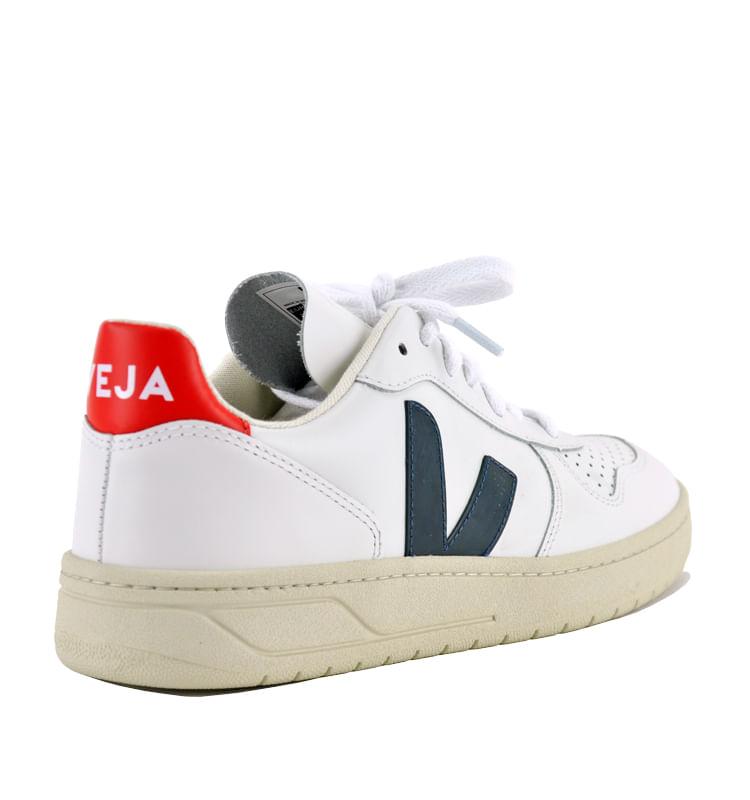 V-10-Leather-V-Sneakers-38-White-2