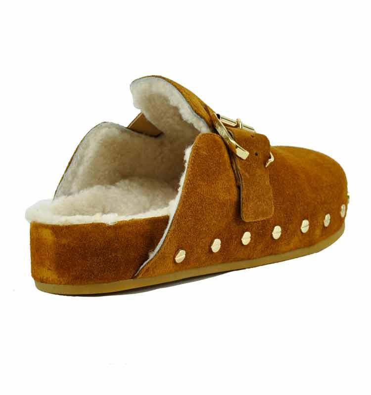 Fern-Suede-Fur-Flat-Clog-7-Caramel-2