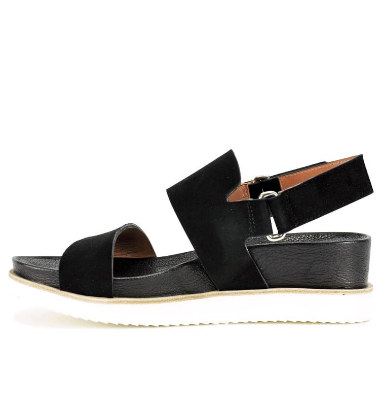 19314-Suede-Footbed-Sandal-35-Black-3