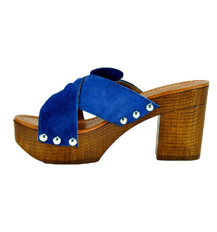 Sabrina-Suede-Wood-Heel-Slide-36-Navy-3