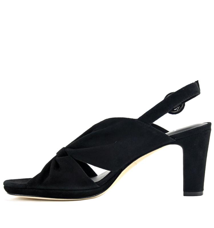 Karol-Suede-Pleated-Heel-Sandal-6-Black-3
