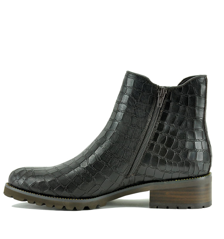 Links-Croc-Leather-Flat-Bootie-10-Brown-3