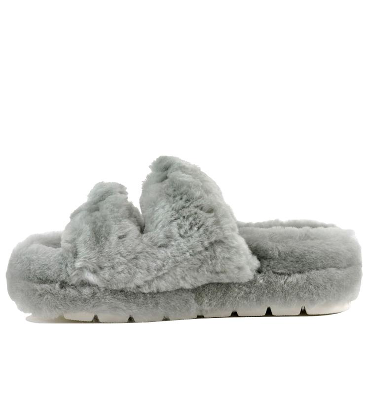 Brooke-Double-Banded-Fur-Slide-9-Grey-3